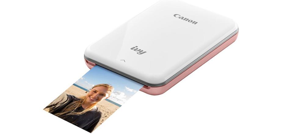 Canon lança mini impressora fotográfica para celular